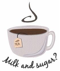 Milk & Sugar embroidery design