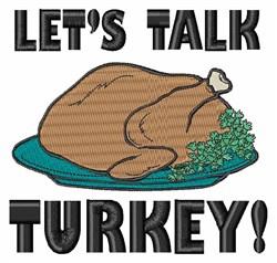 Talk Turkey embroidery design