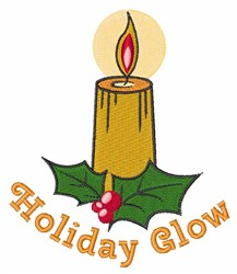 Holiday Glow embroidery design