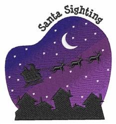 Santa Sighting embroidery design