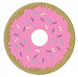 Doughnut embroidery design