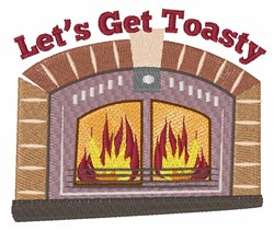 Get Toasty embroidery design