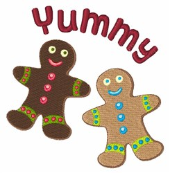 Yummy embroidery design