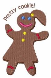 Pretty Cookie embroidery design