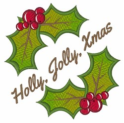 Jolly Xmas embroidery design