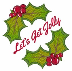 Get Jolly embroidery design