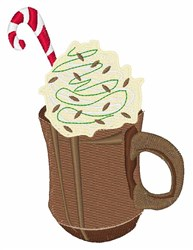 Xmas Drink embroidery design