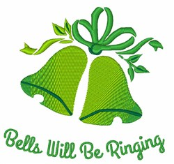 Bells Ringing embroidery design