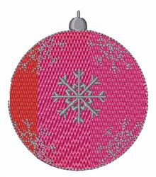 Xmas Ornament embroidery design