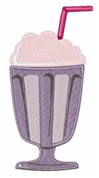 Milk Shake embroidery design
