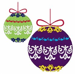 Xmas Decorations embroidery design
