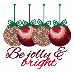 Jolly & Bright embroidery design