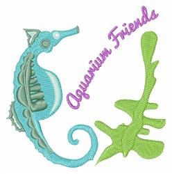 Aquarium Friends embroidery design