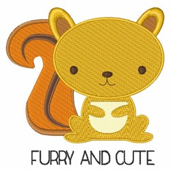 Furry And Cute embroidery design