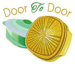 Door To Door embroidery design