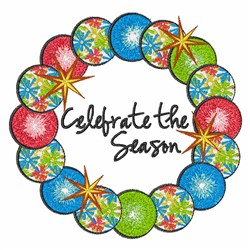 Celebrate Season embroidery design