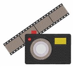 Camera & Film embroidery design
