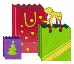Holiday Gifts embroidery design