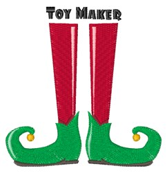 Toy Maker embroidery design