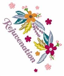 Rejuvenation embroidery design