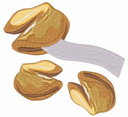 Fortune Cookies embroidery design