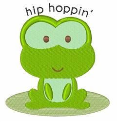 Hip Hoppin embroidery design