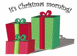 Christmas Morning embroidery design