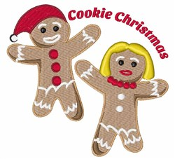 Cookie Christmas embroidery design