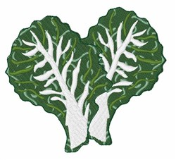 Kale Leaves embroidery design