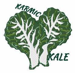 Karmic Kale embroidery design