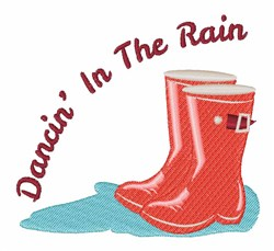 Dancin In The Rain embroidery design