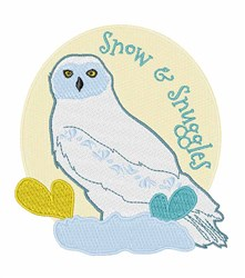 Snow & Snuggles embroidery design