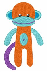 Monkey Toy embroidery design