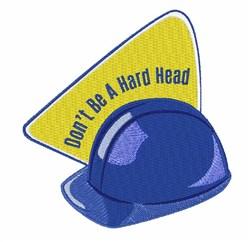 Hard Head embroidery design