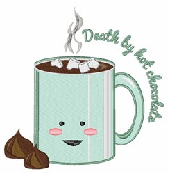 Death By Chocolate embroidery design