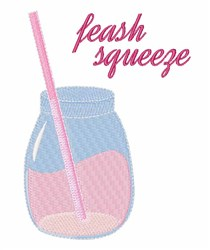 Fresh Squeeze embroidery design