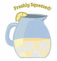 Freshly Squeezed embroidery design