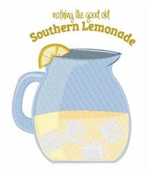 Suothern Lemonade embroidery design