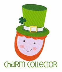 Charm Collector embroidery design