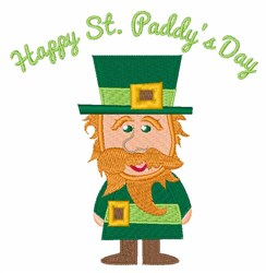 St Paddys Day embroidery design