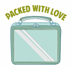 Packed With Love embroidery design