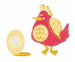 Chicken & Egg embroidery design