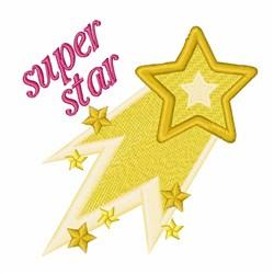 Super Star embroidery design