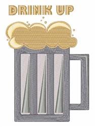 Drimk Up embroidery design