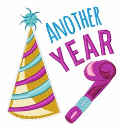 Another Year embroidery design