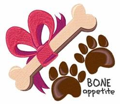 Bone Appetite embroidery design