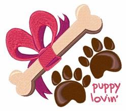 Puppy Lovin embroidery design