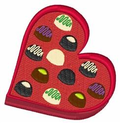 Chocolate Box embroidery design