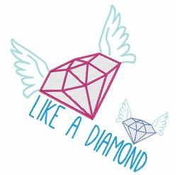 Like A Diamond embroidery design