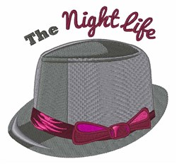 Night Life embroidery design